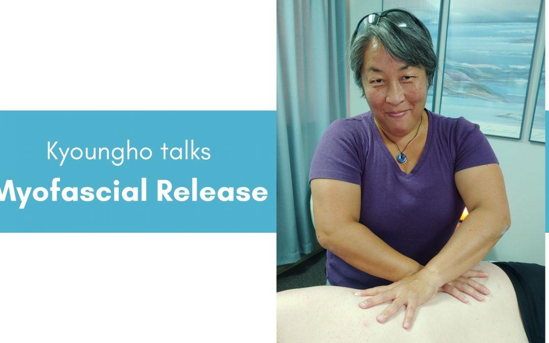 Kyoungho talks Myofascial Release
